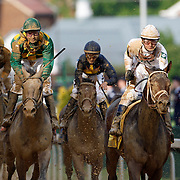 1 May 2010:  2010 Kentucky Derby at Churchill Downs in Louisville, KY won by Super Saver - Jockey Calvin Borel Corporate event photography by Infiniti Images