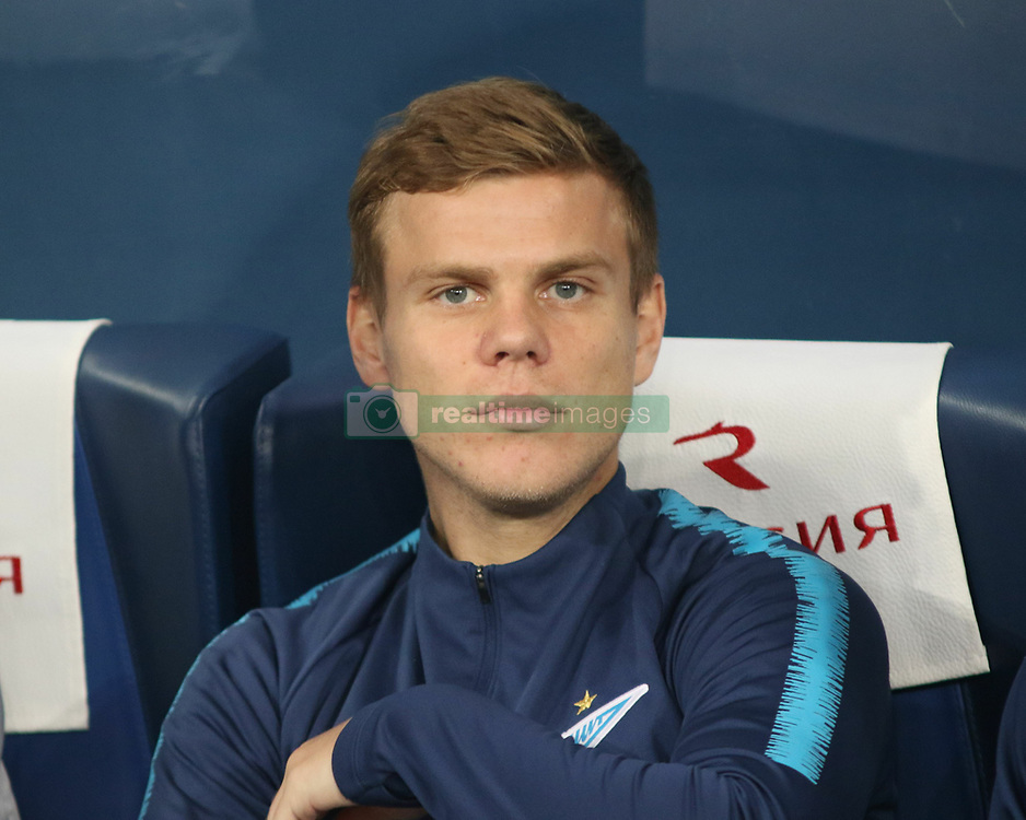 October 7, 2018 - Russia - 9 October 2018. Russian footballers Alexander Kokorin and Pavel Mamaev beats up an official of the Russian Ministry of Industry and Trade Denis Pak in a Moscow cafe. In photo: Zenit player Alexander Kokorin. (Credit Image: © Russian Look via ZUMA Wire)