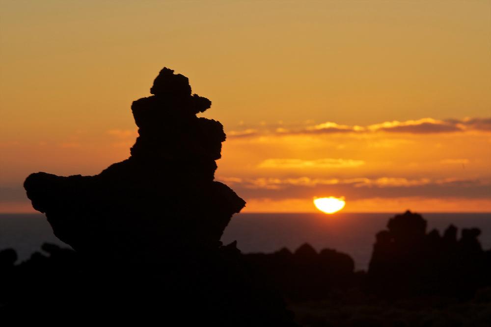 06/Abril/2014 Islas Canarias. El Hierro<br /> Atardecer en Playa El Verodal.<br /> <br /> © JOAN COSTA