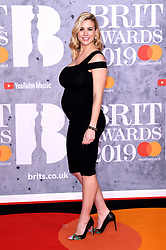 Gemma Atkinson attending the Brit Awards 2019 at the O2 Arena, London. Photo credit should read: Doug Peters/EMPICS Entertainment. EDITORIAL USE ONLY