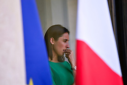 July 6, 2018 - Paris, France - Brune Poirson at the Elysee Palace on February 27, 2018 in Paris, France. Solberg is on an official visit in Paris. (Credit Image: © Julien Mattia/NurPhoto via ZUMA Press)