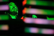 DJ and producer Steve Aoki performing at the Pageant in St. Louis on February 1, 2012.
