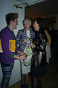 HENRY HOLLAND, AGYNESS DEYNE AND BETTINA VON HASE, TOD'S Art Plus Film Party 2008. Party to raise funds for the Whitechapel art Gallery.  One Marylebone Road, London NW1, 6 March, 8.30 - late<br />