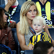 Fenerbahce's supporters during their Turkish super league soccer match Fenerbahce between Bursaspor at the Sukru Saracaoglu stadium in Istanbul Turkey on Sunday 20 September 2015. Photo by Aykut AKICI/TURKPIX