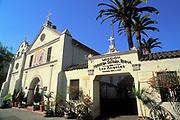 Mission Nuestra Senora Reina, El Pueblo de Los Angeles, Dedicated December 8, 1822, Olivera Street, California (LA)