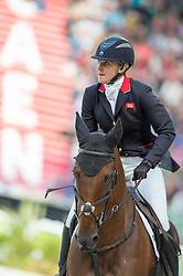 Kristina Cook, (GBR), De Novo News - Jumping Eventing - Alltech FEI World Equestrian Games™ 2014 - Normandy, France.<br /> © Hippo Foto Team - Jon Stroud<br /> 31-08-14