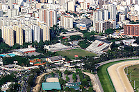 Football Fifa World Cup Brazil 2014 / <br /> Rio de Janeiro - Brazil , The neighborhood of Gavea -<br /> Panoramic View of Flamengo Training Center - Gavea , Rio de Janeiro - Brazil ,<br /> uring the next Fifa World Cup Brazil 2014 , The Dutch National Football Team , Training on Flamengo Field