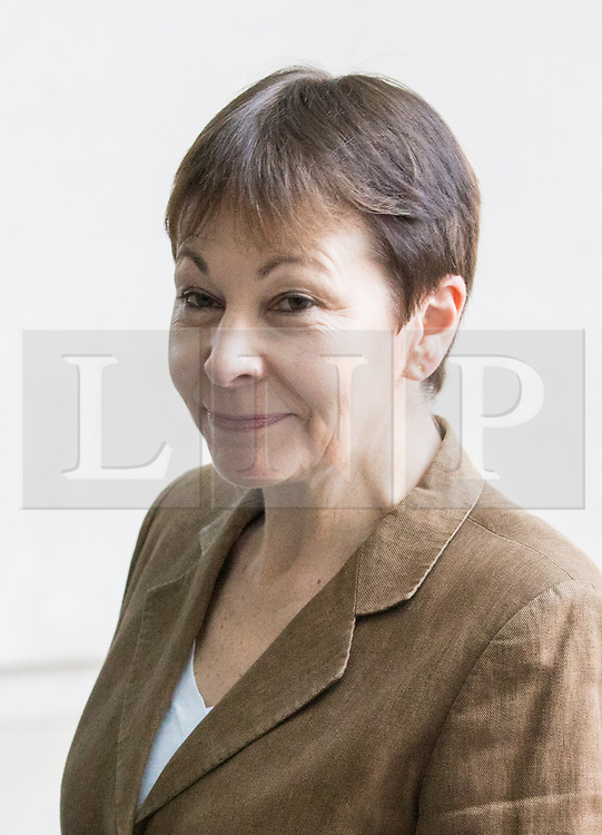 © Licensed to London News Pictures. 02/04/2017. London, UK. Co-Leaders of the Green Party Jonathan Bartley MP and Caroline Lucas MP arriving at BBC Broadcasting House to appear on The Andrew Marr Show this morning. Photo credit : Tom Nicholson/LNP