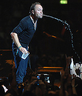 Metallica  Live at the 02  Monday Night <br /> Drummer Lars Ulrich<br /> Pix Dave Nelson