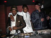 Jermaine Dupri, Usher & Quentin Tarantino.Usher Post Grammy Party.Geisha House.Loa Angeles, CA, USA.Sunday, February, 13, 2005.Photo By Celebrityvibe.com/Photovibe.com, New York, USA, Phone 212 410 5354, email:sales@celebrityvibe.com...