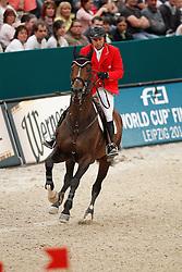 Lamaze Eric (CAN) - Hickstead<br /> Rolex FEI World Cup Final Jumping 2011<br /> © Hippo Foto - Leanjo de Koster
