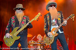 ZZ Top headlines at  Cycle Fest at Westworld during Arizona Bike Week. April 5, 2014.  Photography ©2014 Michael Lichter.