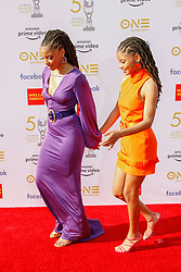 50th Annual NAACP Image Awards. 30 Mar 2019 Pictured: Chloe Bailey and Halle Bailey. Photo credit: imageSPACE / MEGA TheMegaAgency.com +1 888 505 6342
