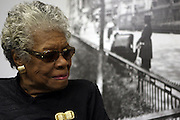 29 October 2010- Harlem, New York- Dr. Maya Angelou backstage at The Acquisition of the Maya Angelou Collection of Personal Papers and Materials Documenting 40 years of the Writer's Literary Career held at the Schomburg Center on October 29, 2010 in Harlem, USA. Photo Credit: Terrence Jennings