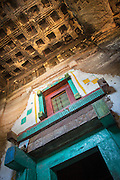 Interior entrance area, Medhane Alem Adi Kesho Church, Adi Kesho, Tigray region. Ethiopia, Horn of Africa
