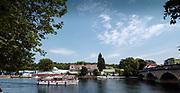 2005 Henley Royal Regatta, Henley on Thames, ENGLAND. Tuesday 28.06.2005. Henley Royal Regatta, Leander Club, Boat Tent's. GV's Henley Regatta, <br /> <br /> [Mandatory Credit Peter Spurrier/ Intersport Images] ...........Rowing Courses, Henley Reach, Henley, ENGLAND. HRR