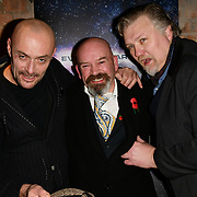Sean Cronin, Derek Carey Vernon and Rock Salt arrivers at Eleven Film Premiere at Picture House Central, Piccadilly Circus on 10 November 2018, London, Uk.