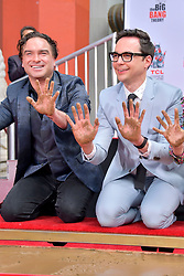 May 1, 2019 - Los Angeles, Kalifornien, USA - Johnny Galecki und Jim Parsons bei der Handprints Ceremony am TCL Chinese Theatre Hollywood. Los Angeles, 01.05.2019 (Credit Image: © Future-Image via ZUMA Press)