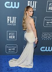 Jennifer Lopez at the 25th Annual Critics' Choice Awards held at the Barker Hangar in Santa Monica, USA on January 12, 2020.