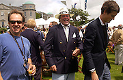 Rupert Ivey and the Marquess of Blandford, Cartier Style Et Luxe, Goodwood, 27 June 2004. SUPPLIED FOR ONE-TIME USE ONLY-DO NOT ARCHIVE. © Copyright Photograph by Dafydd Jones 66 Stockwell Park Rd. London SW9 0DA Tel 020 7733 0108 www.dafjones.com