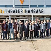 NLD/Katwijk/20170403 - 100ste geboortedag Erik Hazelhoff Roelfzema, partner Karin Hazelhoff Roelfzema en de 5 overgebleven Engelandvaarders en splers van Erik Hazelhoff Roelfzema