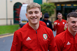 CARDIFF, WALES - Friday, November 16, 2018: Wales' David Brooks during a pre-match walk at the Vale Resort ahead of the UEFA Nations League Group Stage League B Group 4 match between Wales and Denmark. (Pic by Ethan Ampadu/Propaganda)