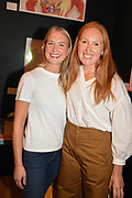 AMY BELLWOOD, LAURA PARKER, Evening preview of House of Voltaire.  A pop-up store selling artworks. homewares and limited edition prints. 31 Cork st. London W1S 3NU. 25 September 2019