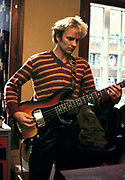 Sting backstage  The Police on tour 1981