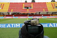 The empty stadium. <br /> <br /> all series matches postponed for the sudden death of the Florentina captain davide astori <br /> <br /> Stadio Vuoto <br /> <br /> Rinvio di tutti gli incontri di Serie A per la morte imporovvisa del capitano della Fiorentina Davide Astori <br /> <br /> Benevento 04-03-2018  Stadio Ciro Vigorito<br /> Football Campionato Serie A 2017/2018. <br /> Benevento - Hellas Verona<br /> Foto Cesare Purini / Insidefoto