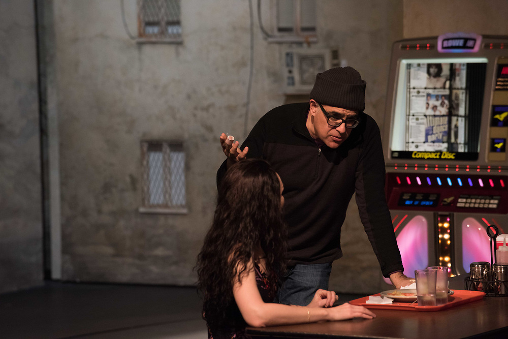 Katrina Lenk & David Yazbek: The Band's Visit - Behind the scenes and Production photos from the original Atlantic Theater Company Off Broadway production