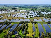 Nederland, Zuid-Holland, Achttienhoven, 14-09-2019; Zicht op dorp Noorden. Plassengebied rond de Meije, Wijde van Vliet.<br /> Water area, peat meadow landscape, border Utrecht Zuid-Holland.<br /> <br /> luchtfoto (toeslag op standard tarieven);<br /> aerial photo (additional fee required);<br /> copyright foto/photo Siebe Swart
