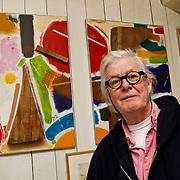 NLD/Amsterdam/20100314 - John van der Rest, ex partner van de overleden Josine van Dalsum in haar woning met herrineringen aan haar