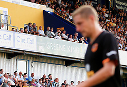 Hull City manager Steve Bruce looks on from the stand as captain Michael Dawson leaves the field with an injury - Mandatory by-line: Matt McNulty/JMP - 19/07/2016 - FOOTBALL - One Call Stadium - Mansfield, England - Mansfield Town v Hull City - Pre-season friendly