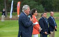 HILVERSUM - Floris Deckers, voorzitter Hilversumsche. Prizewinning ceremony.    ELTK Golf 2020 The Dutch Golf Federation (NGF), The European Golf Federation (EGA) and the Hilversumsche Golf Club will organize Team European Championships for men.  COPYRIGHT KOEN SUYK