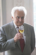 Jean Perromat, father of the generation of brothers that currently run the chateau Chateau de Cerons (Cérons) Sauternes Gironde Aquitaine France