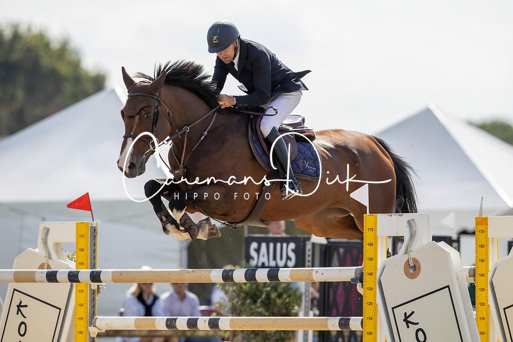 Vermeir Wilm, BEL, Big Lord Carthago<br /> Groenten Jumping - Sint Kathelijne Waver 2020<br /> © Hippo Foto - Dirk Caremans<br /> 21/07/2020