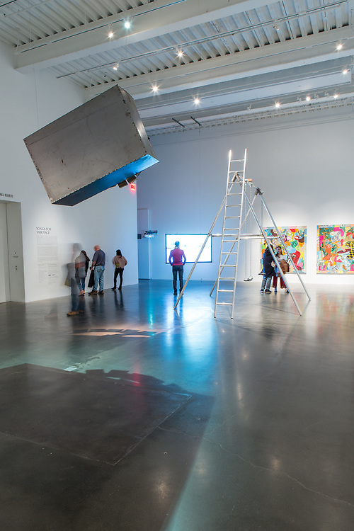 Part of Songs for Sabotage, the fourth Triennial exhbit in The New Museum.