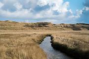 Natuurgebied de Slufter op Texel - National Park dunes of Texel, Netherlands