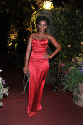GENEVIEVE NNAJI at the Raisa Gorbachev Foundation Gala held at the Stud House, Hampton Court, Surrey on 22nd September 22 2011