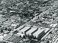 1927 Aerial of William Fox Studios in Hollywood