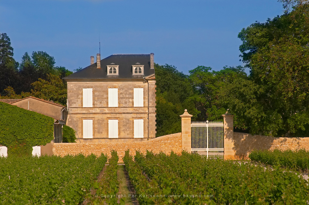 Chateau d Armailhac previously known as Mouton Baronne Mouton Baron Mouton d Armailhac with its half finished building Pauillac Medoc Bordeaux Gironde Aquitaine France