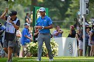 Xander Schauffele (USA) heads down 18 during 2nd round of the World Golf Championships - Bridgestone Invitational, at the Firestone Country Club, Akron, Ohio. 8/3/2018.<br /> Picture: Golffile | Ken Murray<br /> <br /> <br /> All photo usage must carry mandatory copyright credit (© Golffile | Ken Murray)
