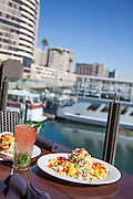 Lunch at the Harbor in Marina Del Rey California