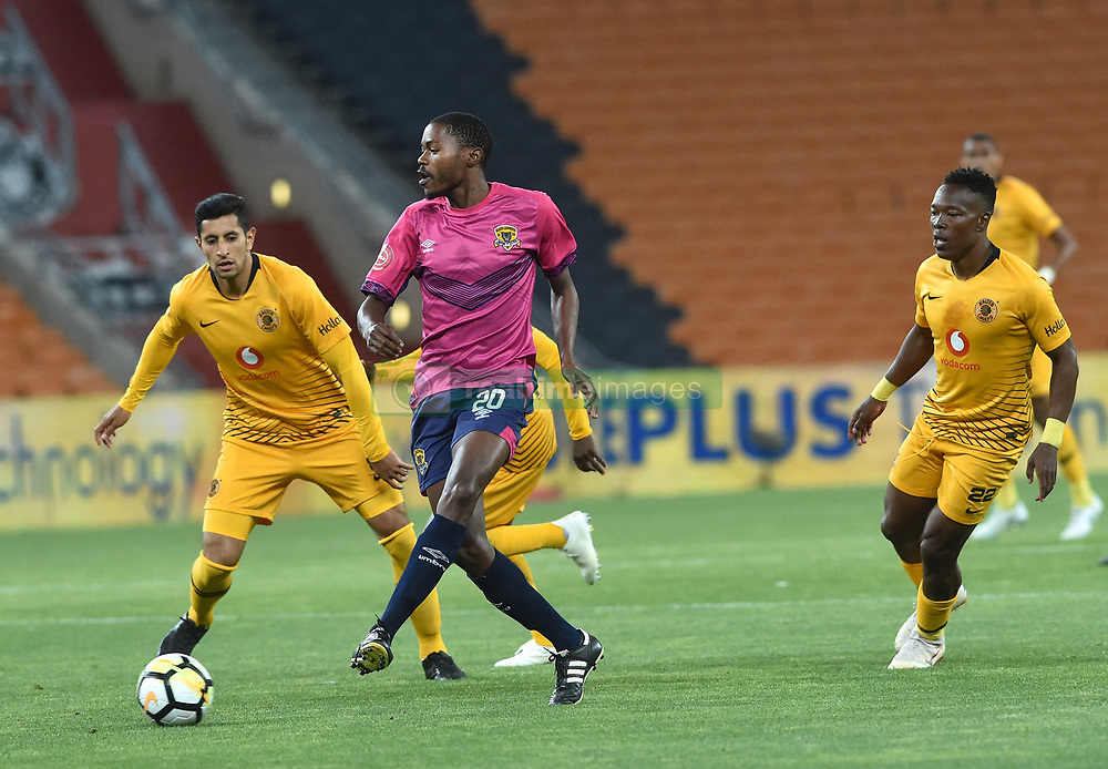 SOUTH AFRICA: JOHANNESBURG: Kaizer Chiefs player Leonardo Castro battle for the ball with Black Leopards FC player Eden Nene during the ABSA premiership at the FNB stadium; Gauteng.; Picture: Itumeleng English/African News Agency (ANA)<br />Picture: Itumeleng English/African News Agency (ANA)