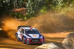 May 17, 2018 - Portugal - Dani Sordo (ESP) – Carlos Del Barrio (ESP) - Hyundai i20 WRC (Credit Image: © Panoramic via ZUMA Press)