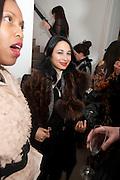 HANNAH BHUIYA, Wallpaper* Design Awards. Wilkinson Gallery, 50-58 Vyner Street, London E2, 14 January 2010 *** Local Caption *** -DO NOT ARCHIVE-© Copyright Photograph by Dafydd Jones. 248 Clapham Rd. London SW9 0PZ. Tel 0207 820 0771. www.dafjones.com.<br /> HANNAH BHUIYA, Wallpaper* Design Awards. Wilkinson Gallery, 50-58 Vyner Street, London E2, 14 January 2010