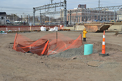 New Haven Rail Yard, Independent Wheel True Facility. CT-DOT Project # 0300-0139, New Haven CT..Progress Photograph of Construction Progress Photo Shoot 8 on 14 February 2012.Image No. 07