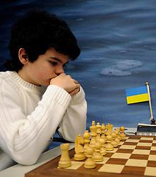 17-01-2011 SCHAKEN: TATA STEEL CHESS TOURNAMENT: WIJK AAN ZEE Ilya Nyzhnyk UKR the youngest grandmaster of this chess tournament<br /> ©2010-WWW.FOTOHOOGENDOORN.NL