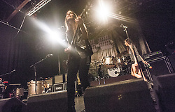 Haim play on stage at Glasgow's O2 ABC on Sauchiehall Street.