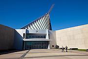 Exterior of the National Museum of the Marine Corps in Quantico, VA.